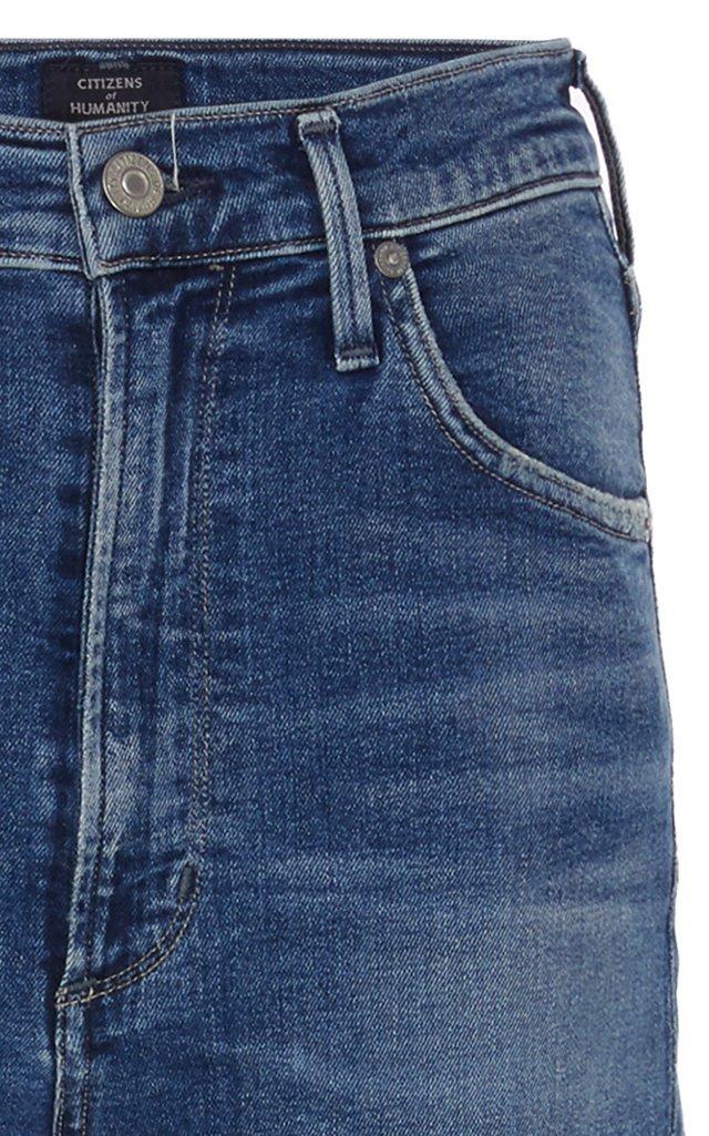 Chrissy High-Rise Skinny Jeans