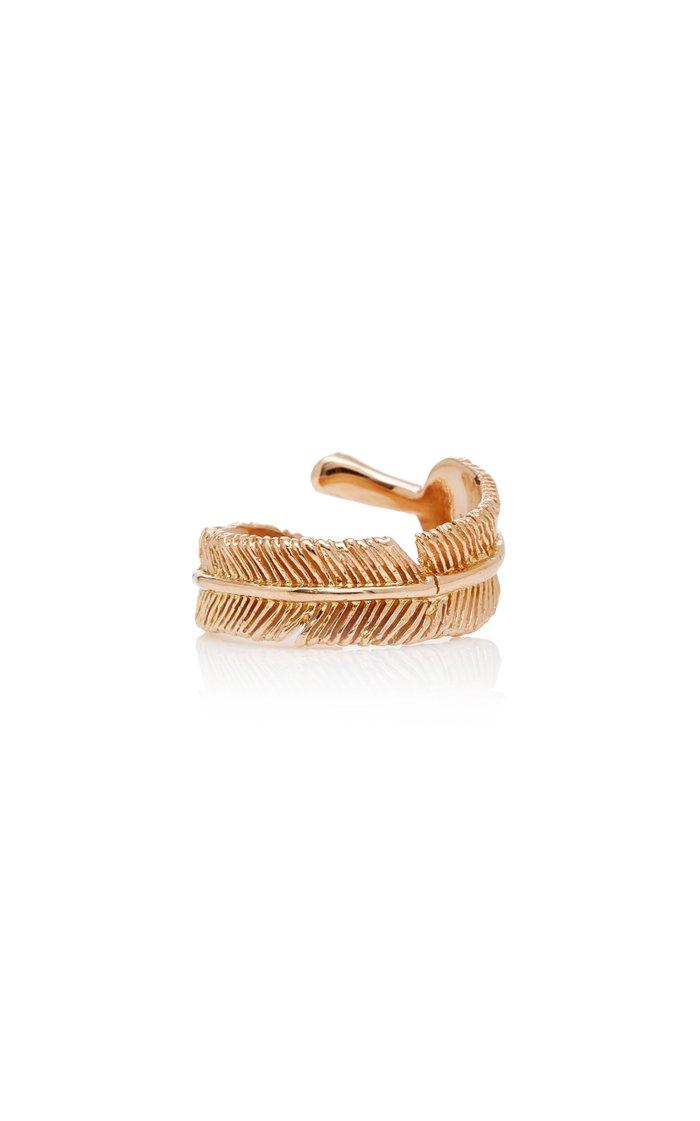 Wing 18K Rose Gold Diamond Ring