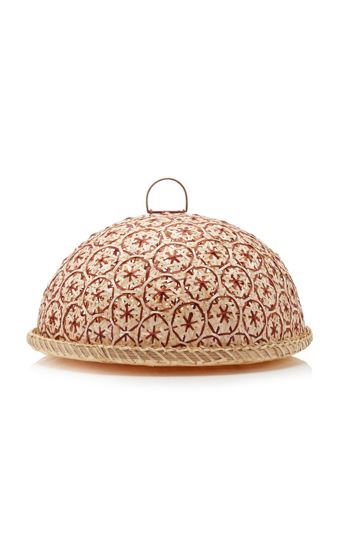 Rattan and Melamine Buffet Dome
