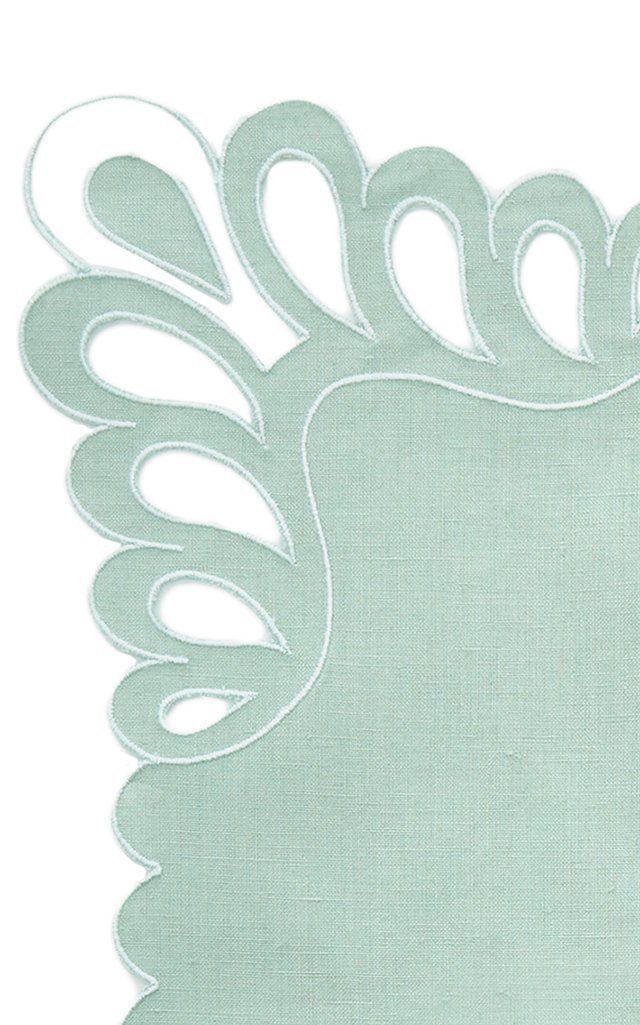 Exclusive Lagrimas Set-of-Four Linen Placemats