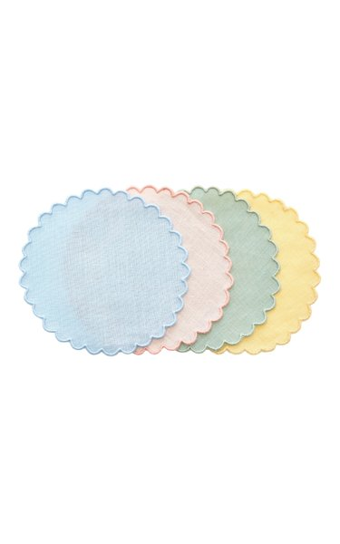Exclusive Set-of-Four Linen Coasters