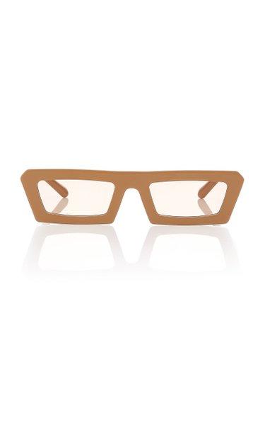 Shipwrecks Rectangle Acetate Sunglasses