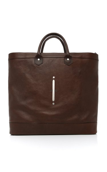 Scier Leather Holdall
