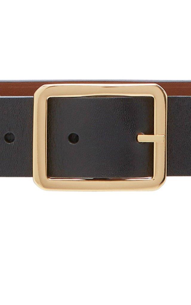 Exclusive Reversible Leather Belt