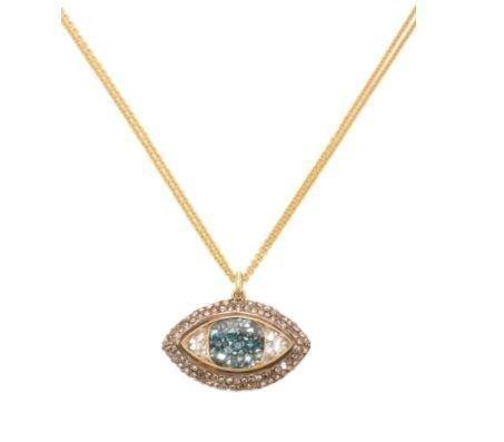 Third Eye Shake 18K Gold Diamond Necklace