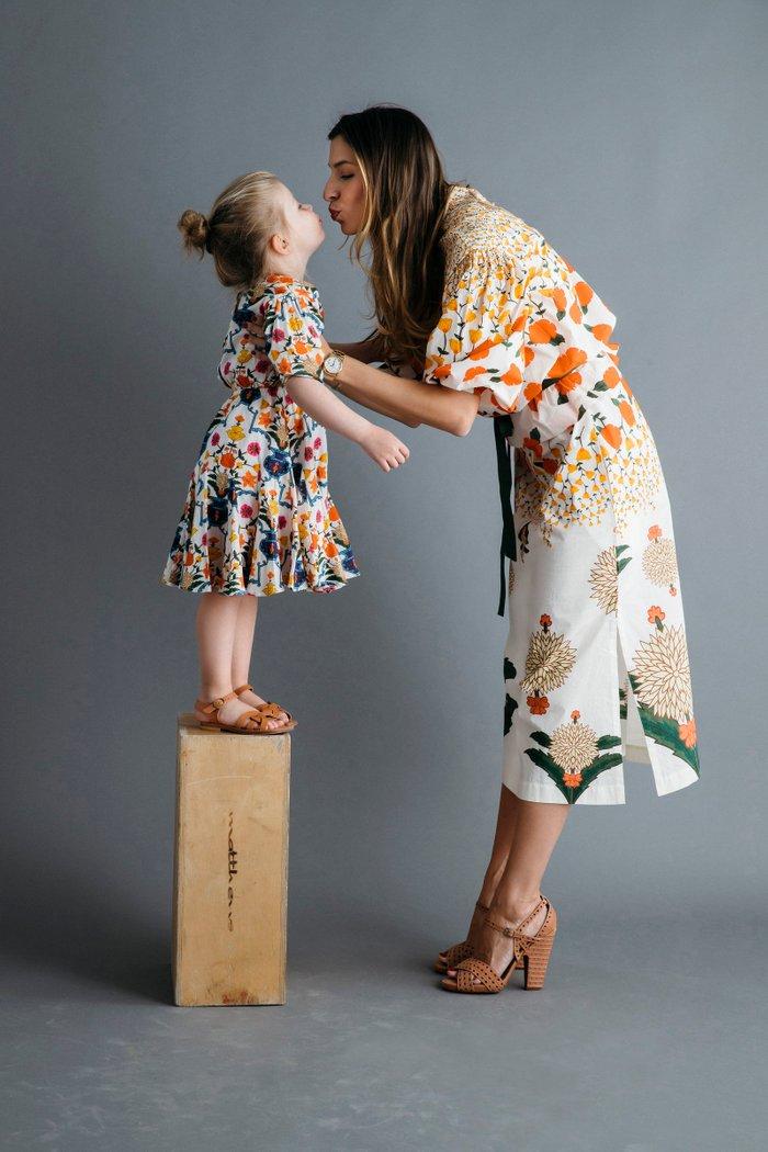 Mini Ella Floral Print Dress
