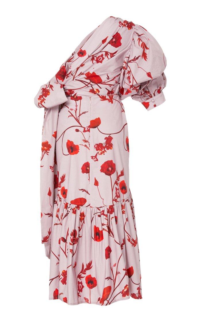Malva Floral Maxi Dress