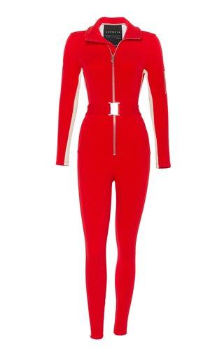 The Cordova Striped Stretch-Shell Snowsuit
