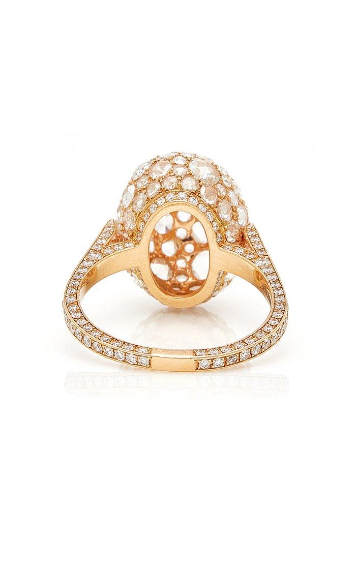 Rosebud Rose Gold Ring