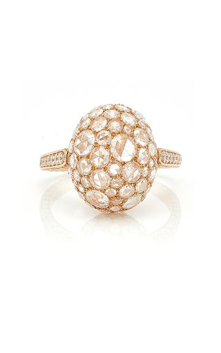 Rosebud Rose Gold Ring