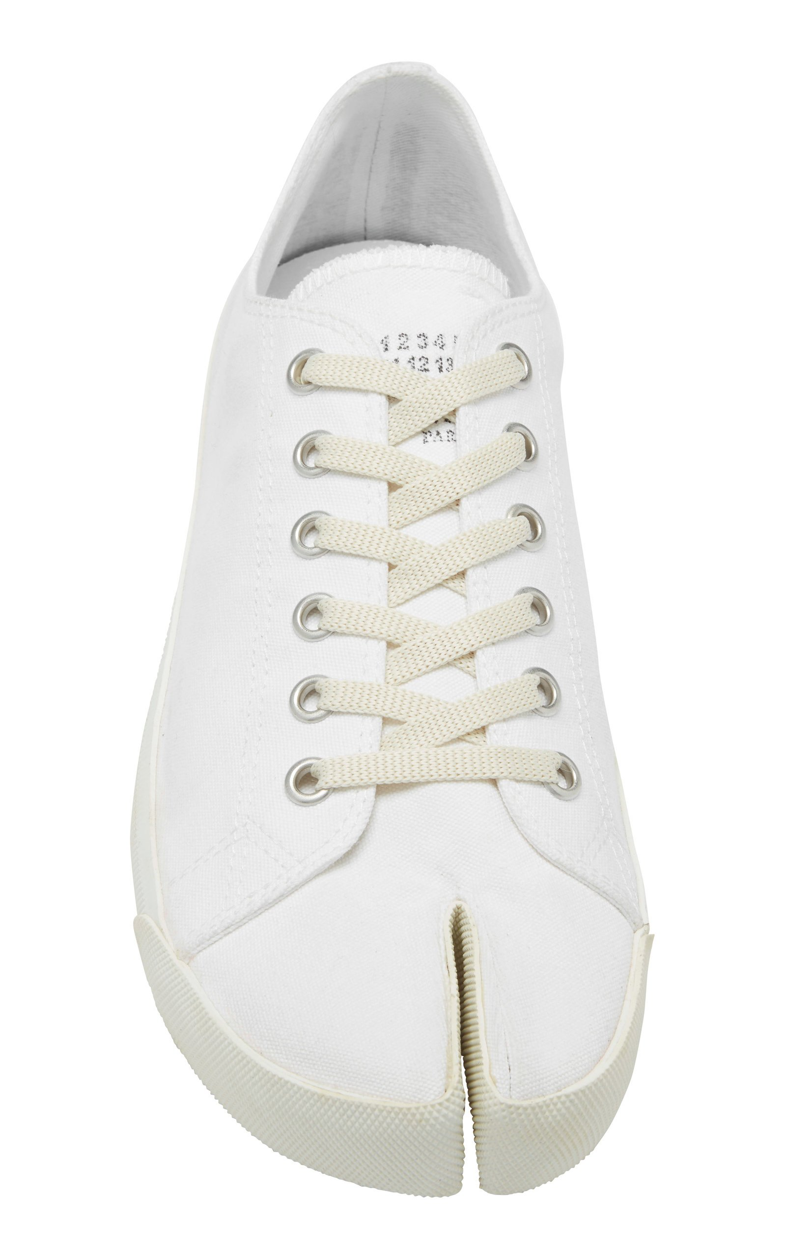 Tabi Low-Top Cotton-Canvas Sneakers By