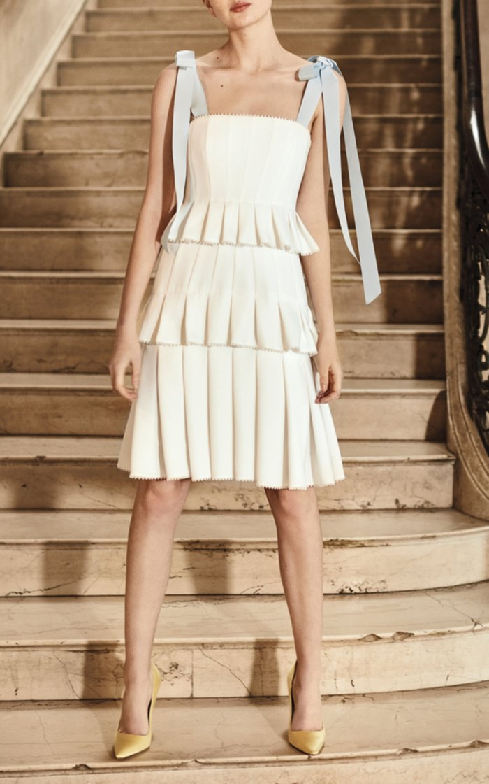 Hildie Pleated Dress