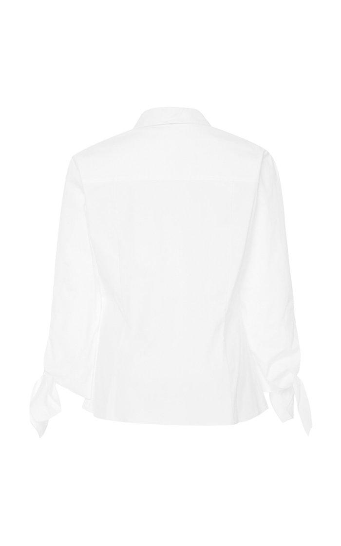 Halstead Cotton-Blend Top