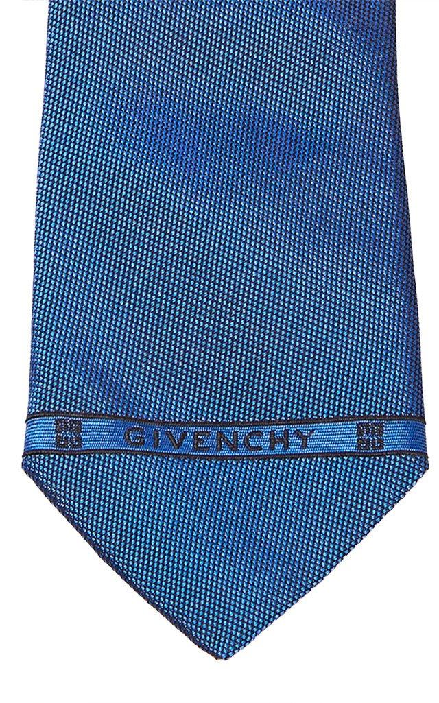 Logo-Detailed Silk Tie