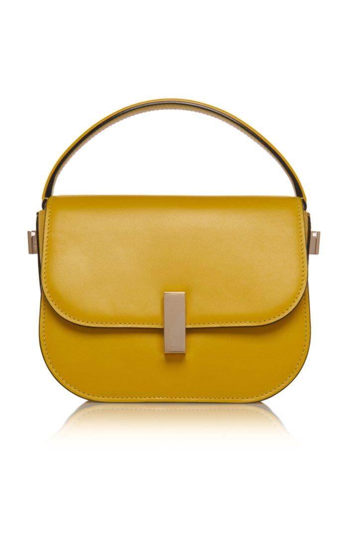 Iside Mini Leather Top Handle Bag