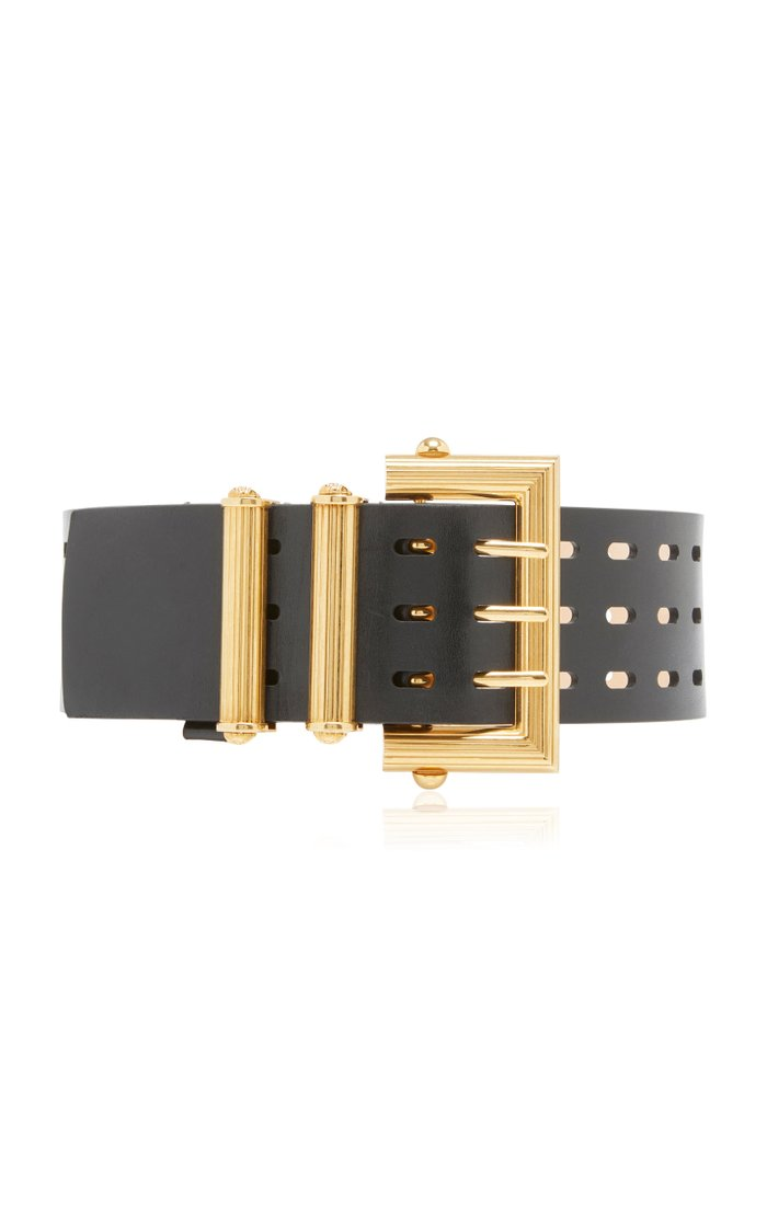Wide Square Buckle Belt