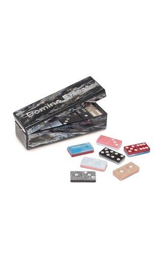 Marbled Acrylic Domino Box