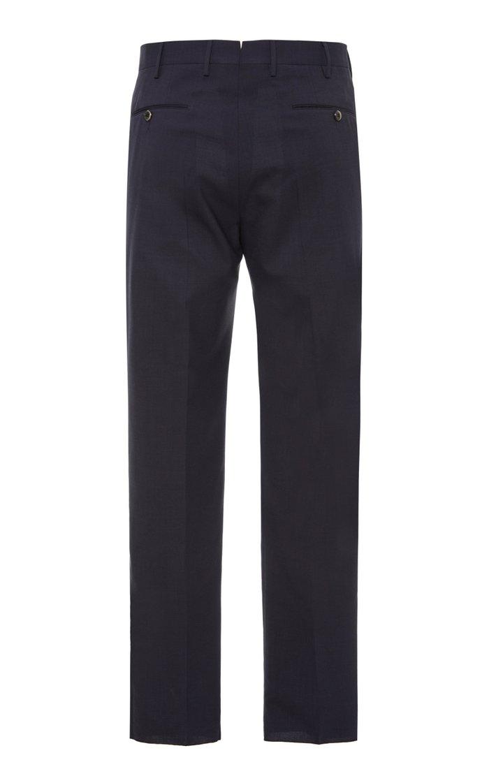 Gentleman Wool-Blend Trousers