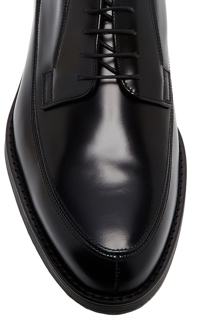 Spazzolato Rois Leather Derby Shoes