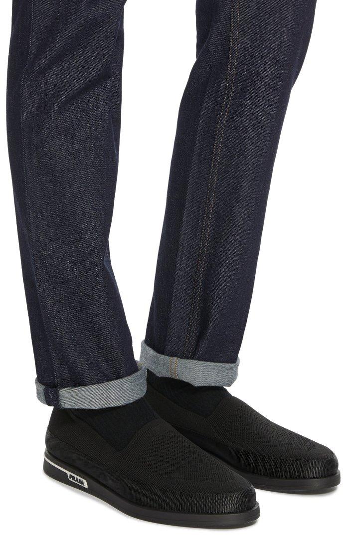 Knit Slip-On Sneakers