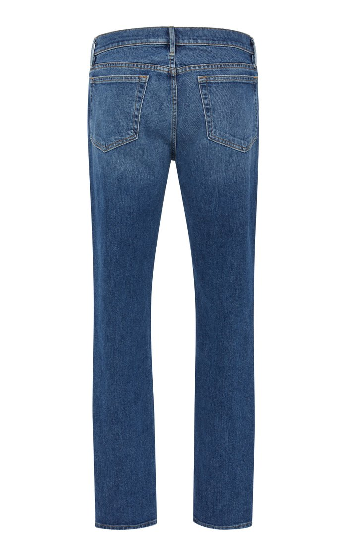 L'Homme Skinny-Fit Distressed Jeans