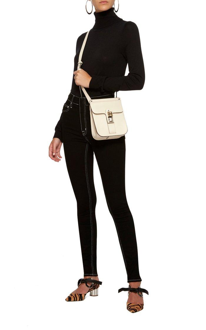 PS11 Box Leather Shoulder Bag