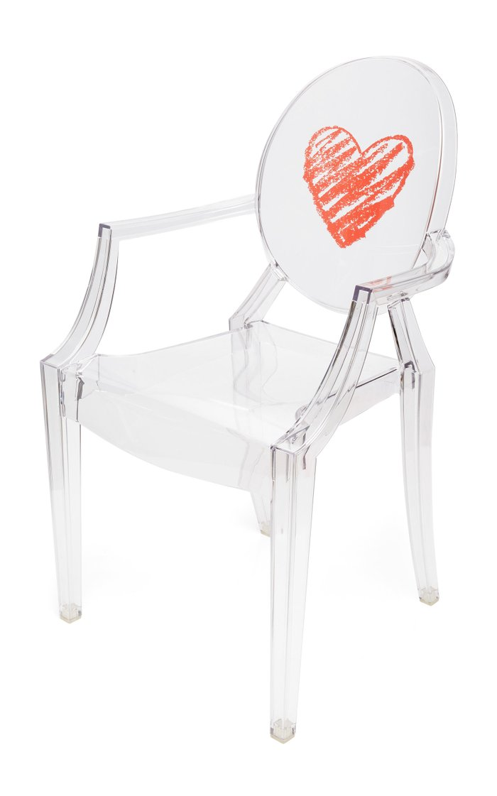 Kids Lou Lou Ghost Crystal Heart Chair