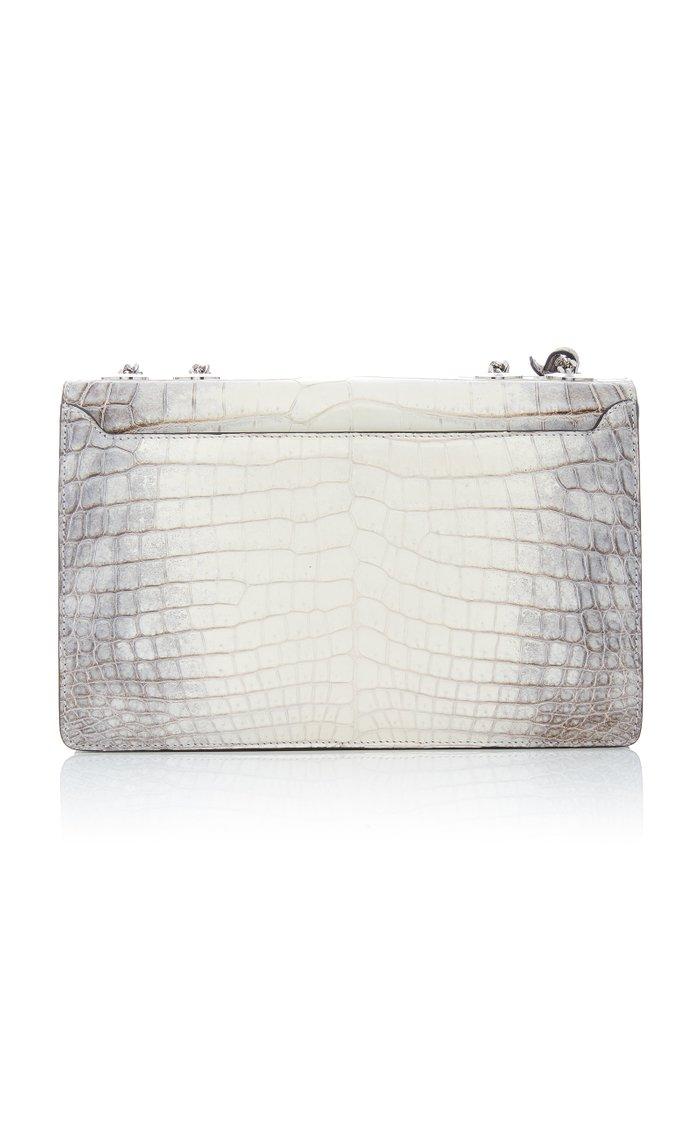 M'O Exclusive Himalayan 2.0 Crocodile Shoulder Bag
