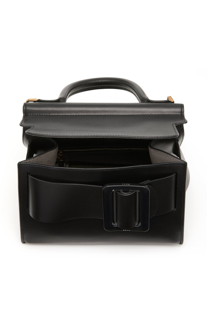 Karl 24 Leather Top Handle Bag
