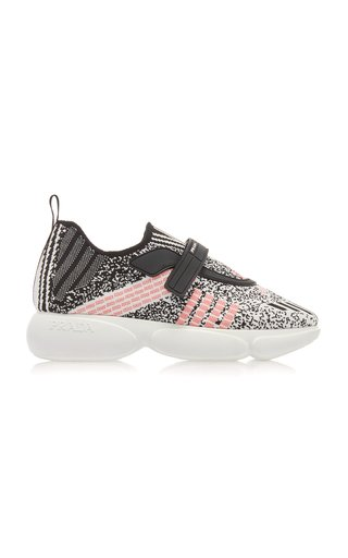 Cloudbust Metallic Stretch-Knit Sneakers