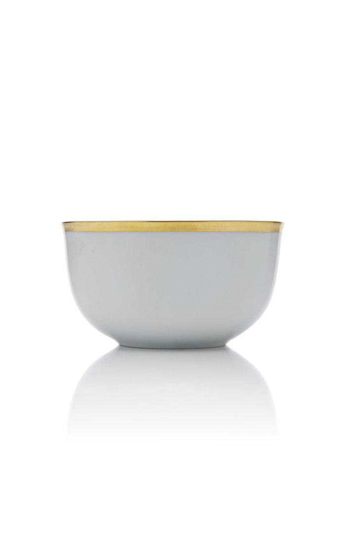 Set-Of-Two Porcelain Champagne Bowls