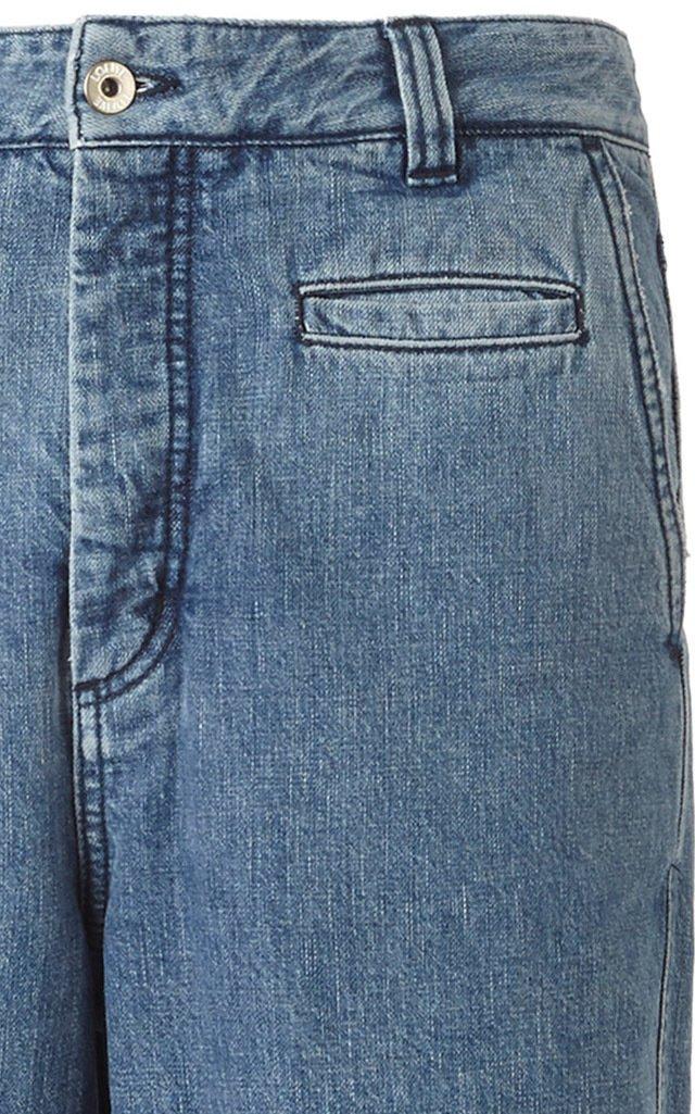 Mid-Rise Fisherman Jeans