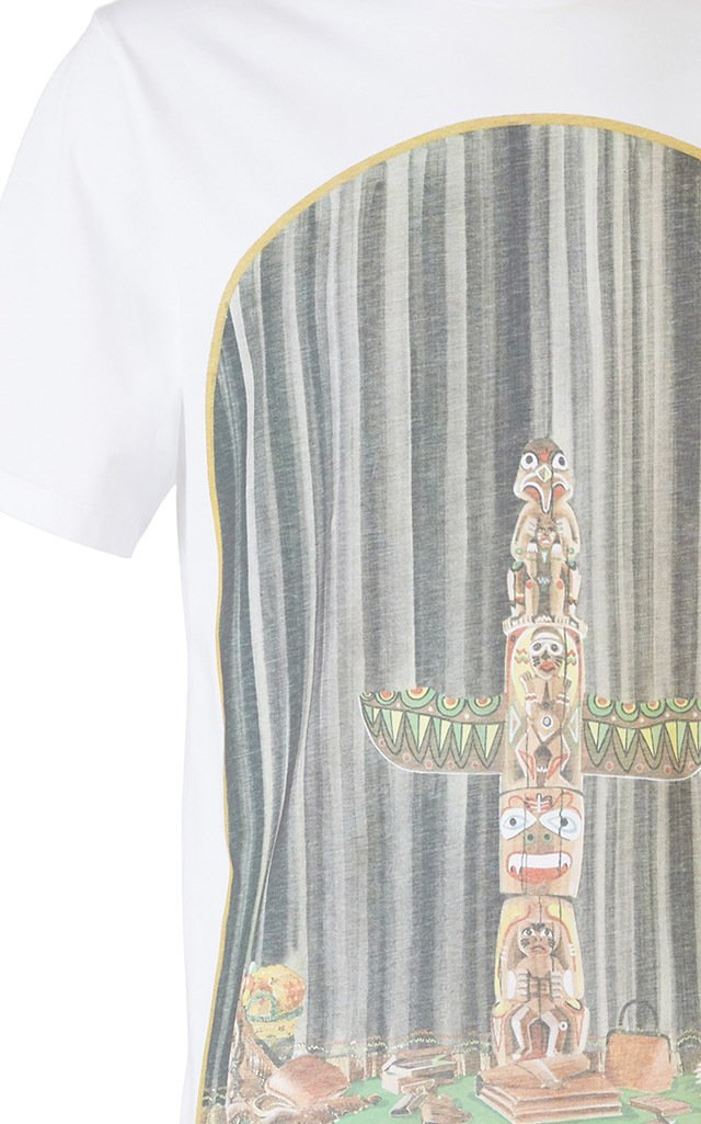 Totem Window Cotton T-Shirt