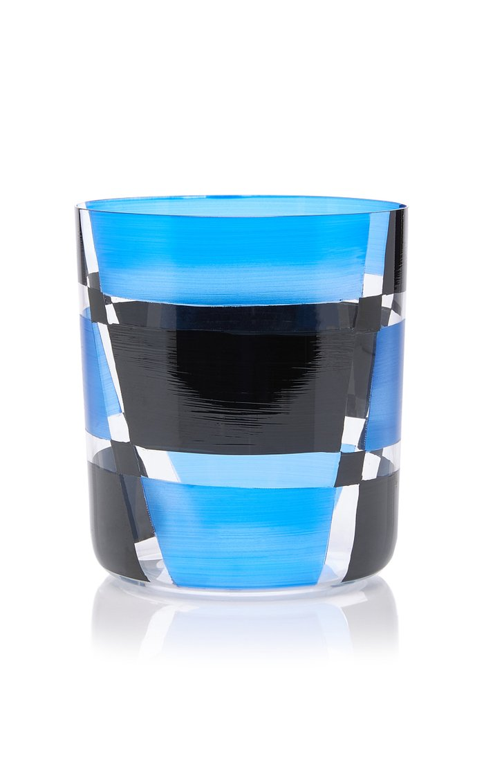 Martino Gamper Neo Geometric Glass Tumbler