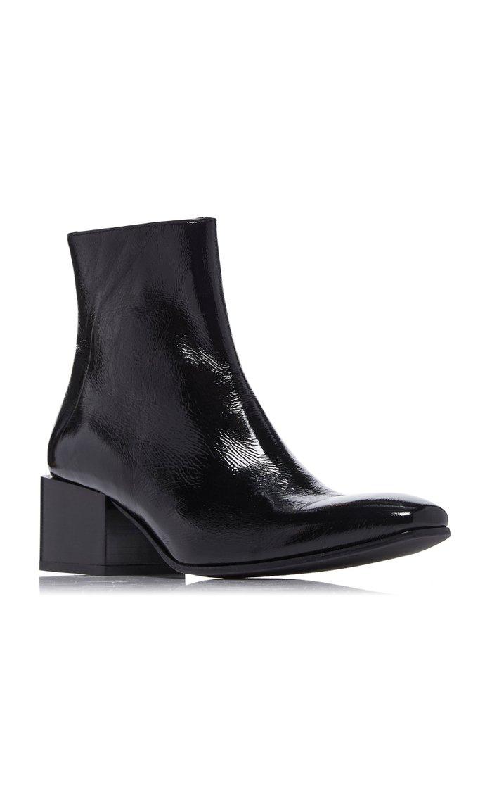 Birgit Patent Leather Boots
