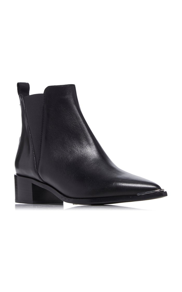 Jensen Leather Chelsea Boots
