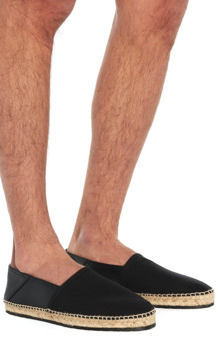 Heras Leather Espadrilles