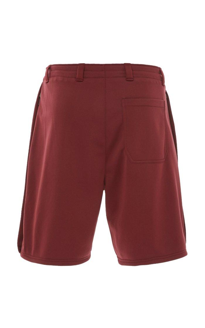 Logo-Trimmed Shell Baseball Shorts