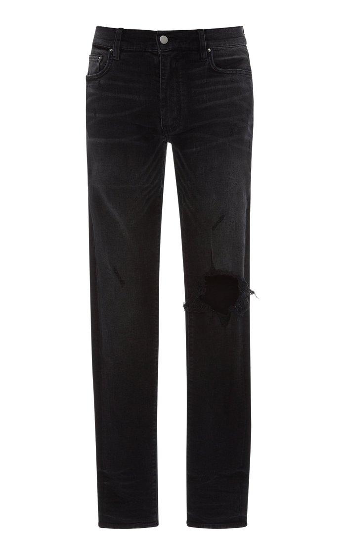 Broken Distressed Skinny Jeans