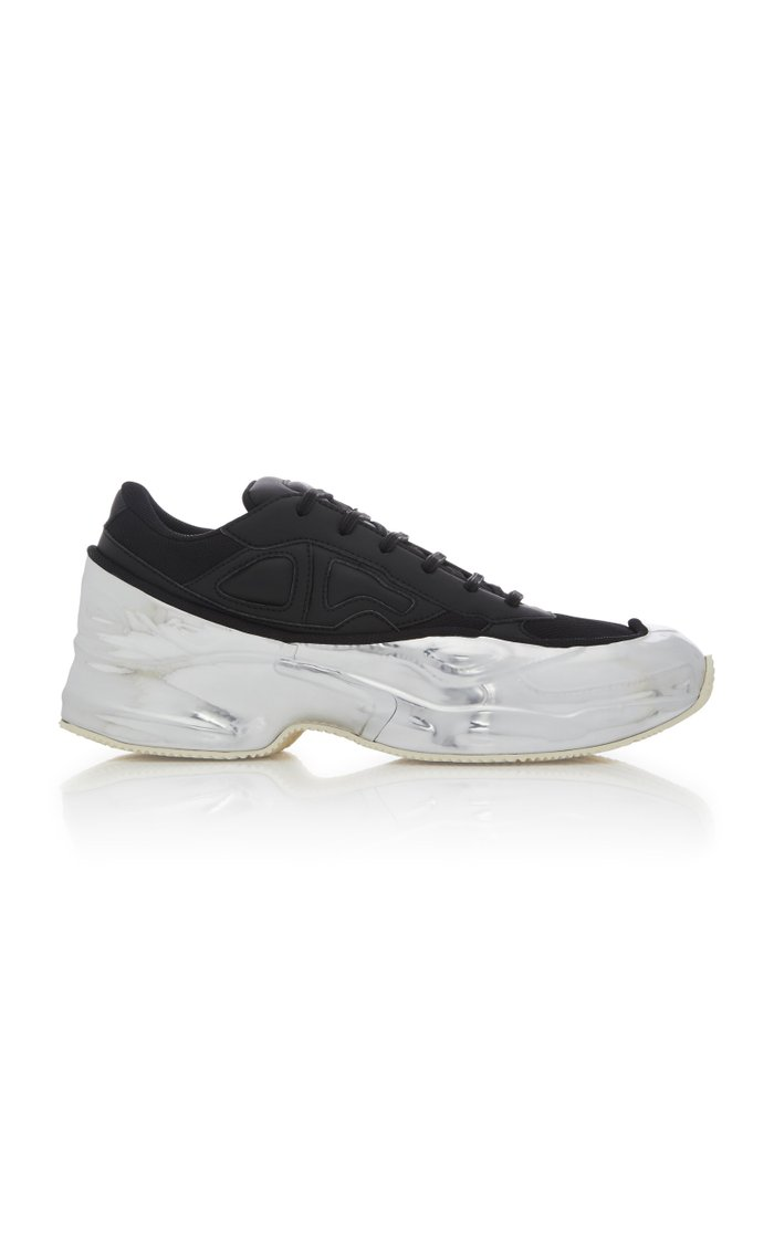 Ozweego Two-Tone Leather Sneakers
