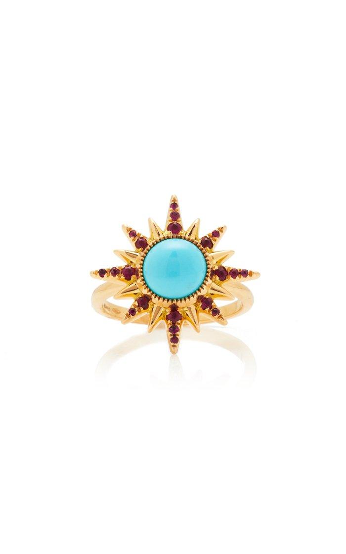 Electra Maxima Turquoise Ring