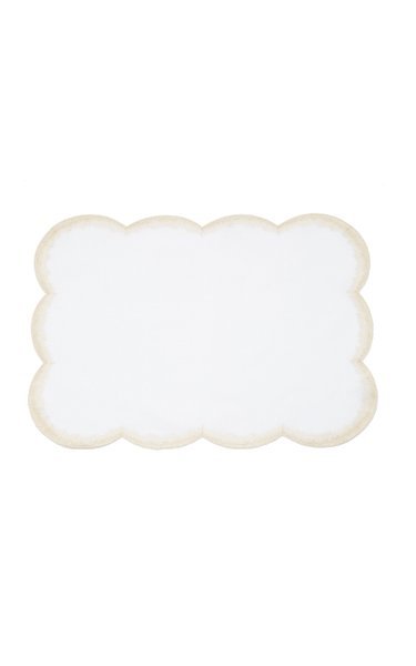 Set-Of-Two Shade Linen Placemats