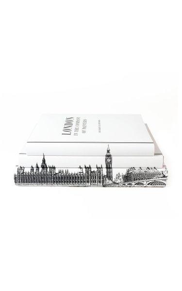 Set-Of-Three London Hardcover Books