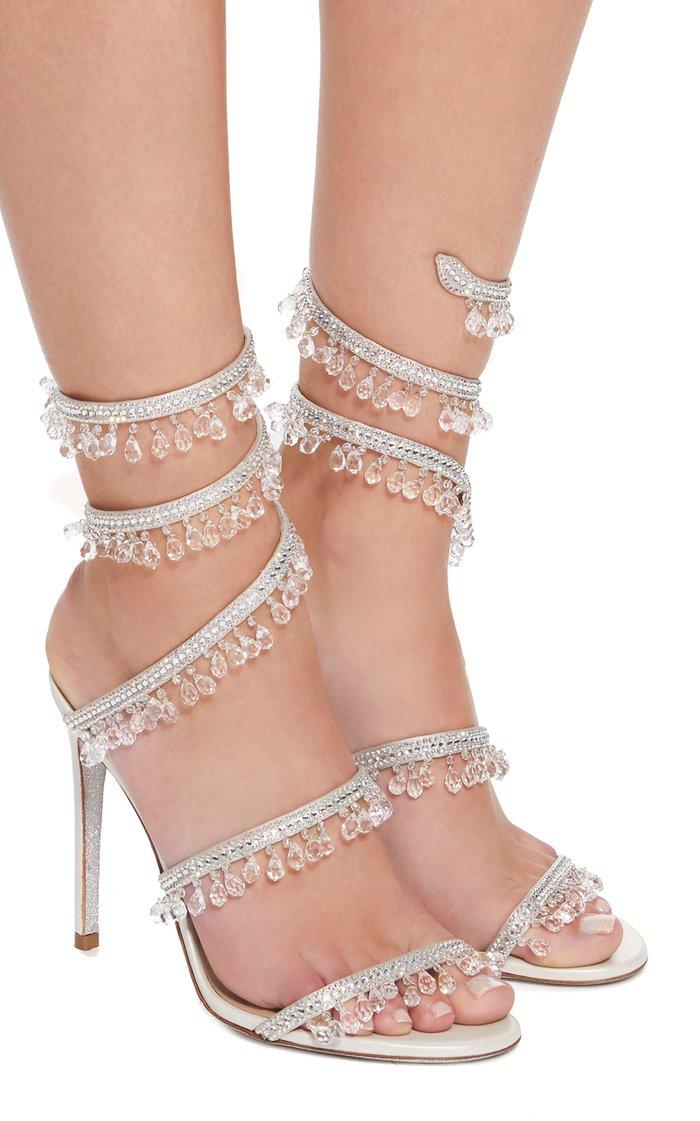 Exclusive Crystal-Embellished Sandal
