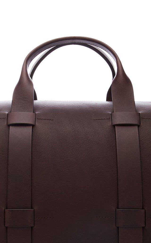 Getaway Leather Duffle Bag