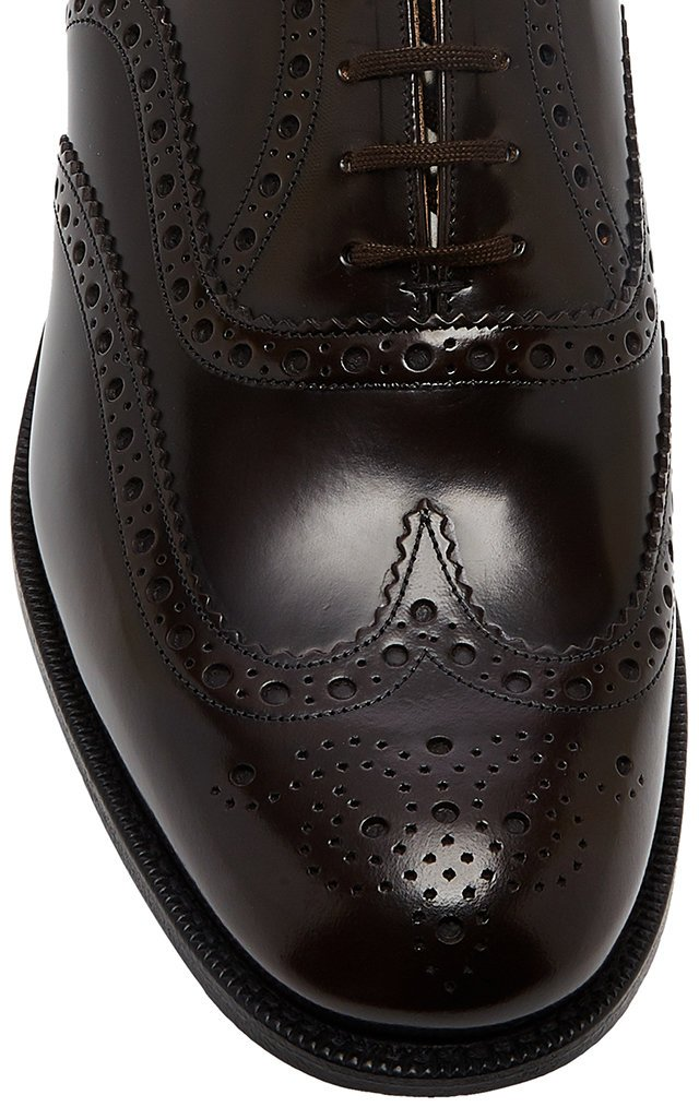 Burwood Leather Brogues
