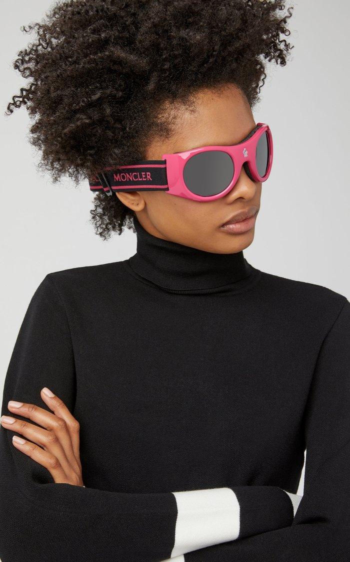 Round-Frame Ski Goggles