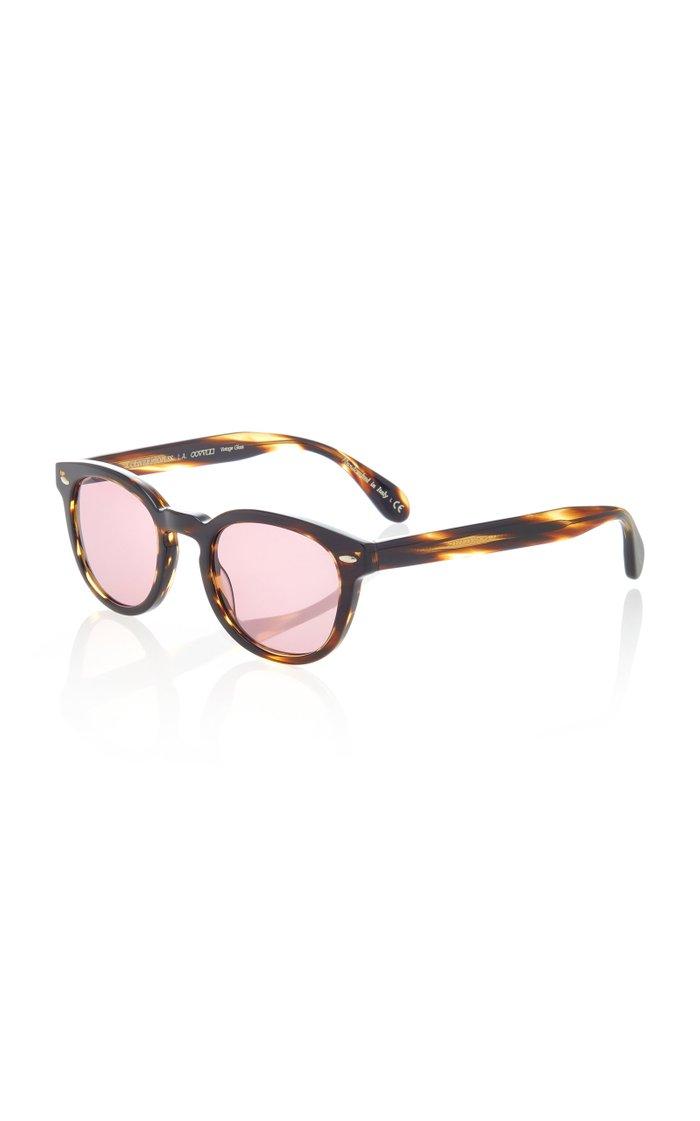 Exclusive Sheldrake Round Sunglasses