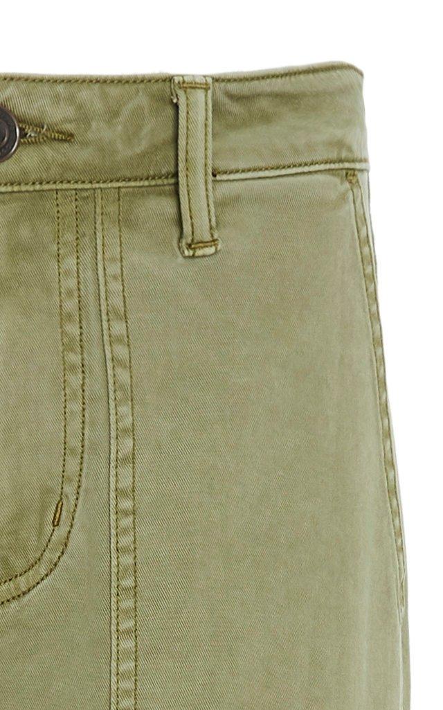 Weslan Cotton-Blend Twill Skinny Pants