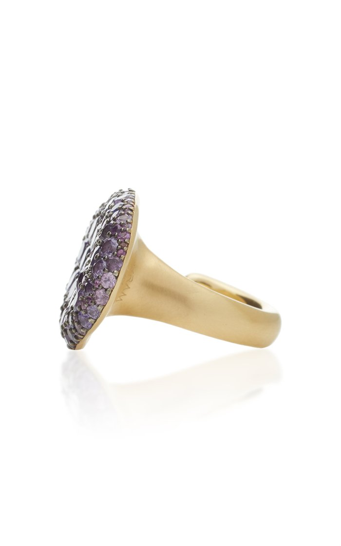Colony 18K Gold, Sterling Silver and Sapphire Ring